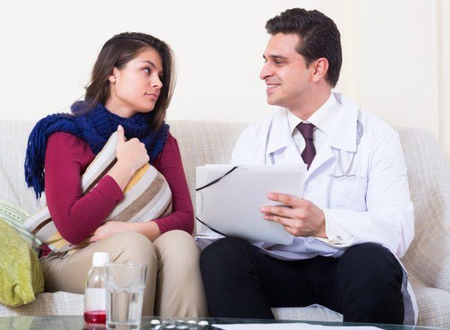 прием врача и лечение мамы
