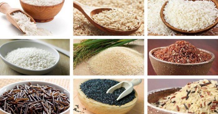 виды риса для употребления кормящими мамами