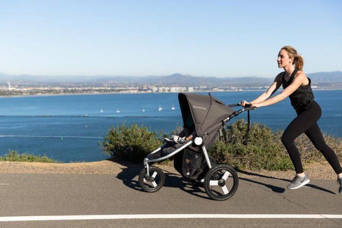 занятия бегом с коляской