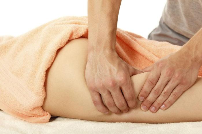 массаж для избавления от целлюлита