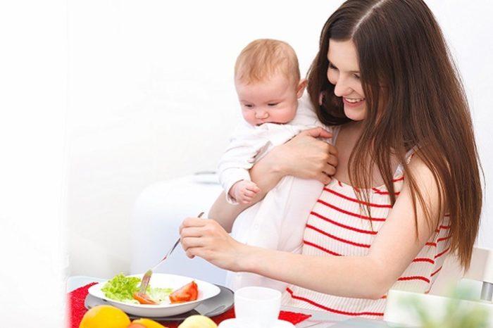 меню кормящей мамы и новые продукты