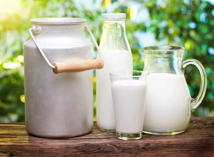 Коровье молоко при ГВ