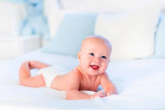 малыш на животике польза и вред